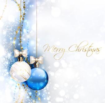 Fundo de vetor de Natal
