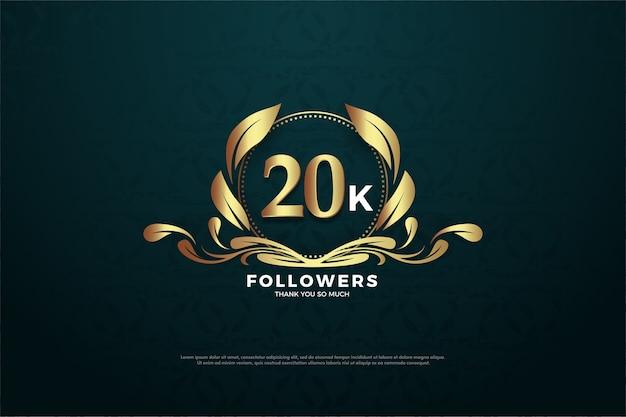 Fundo de vinte mil seguidores
