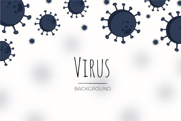 Fundo de vírus