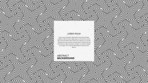 Fundo decorativo abstrato com linhas em zigue-zague giradas