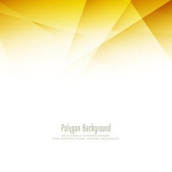 Fundo decorativo de design abstrato e elegante de polígono brilhante