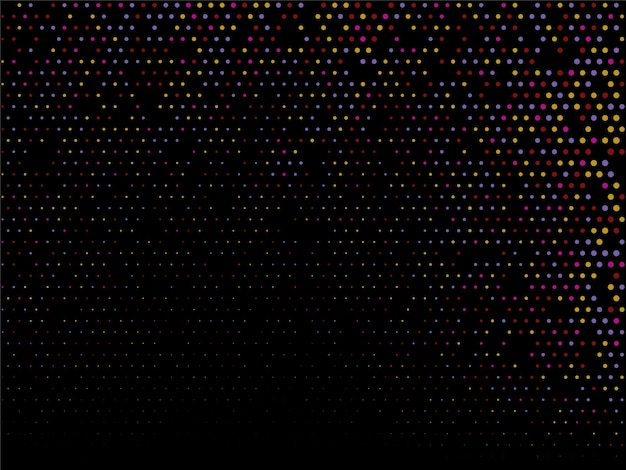 Fundo decorativo de design colorido de meio-tom