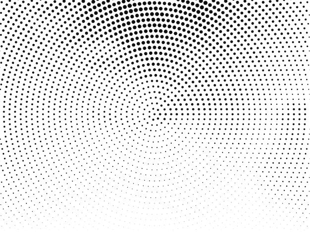 Fundo decorativo de design de meio-tom abstrato