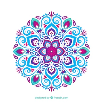 Fundo decorativo de mandala
