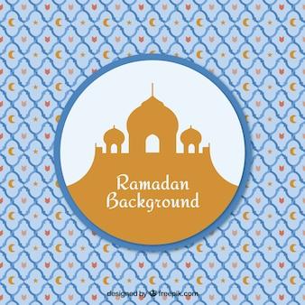 Fundo decorativo do ramadan