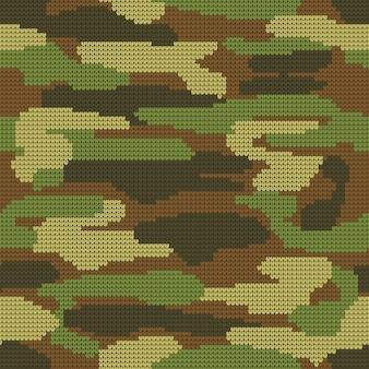Fundo decorativo militar do teste padrão da camuflagem.