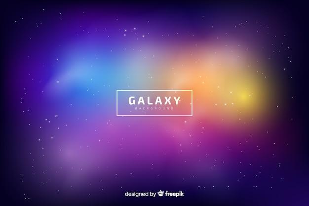 Fundo desfocado de galáxia
