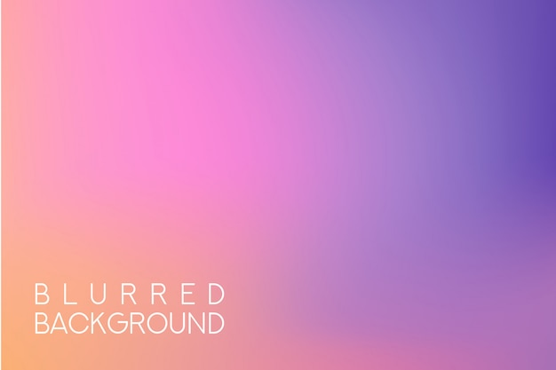 Fundo desfocado multicolorido largo horizontal. pôr do sol e nascer do sol mar fundo desfocado