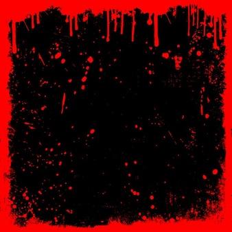 Fundo detalhado do grunge com gotas e splats