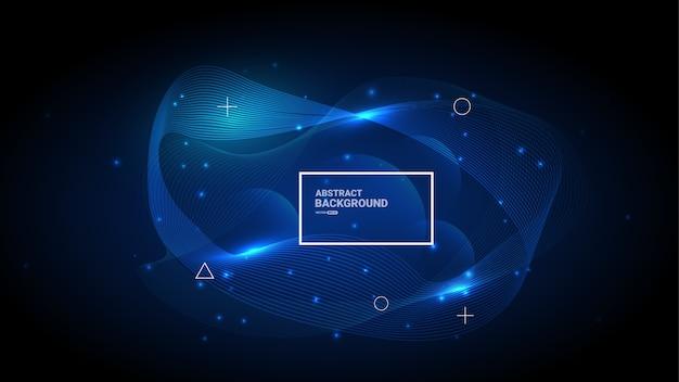 Fundo digital abstrato