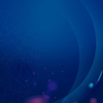 Fundo digital corporativo gradiente bokeh