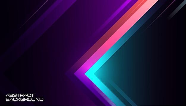 Fundo digital de movimento gradiente abstrato