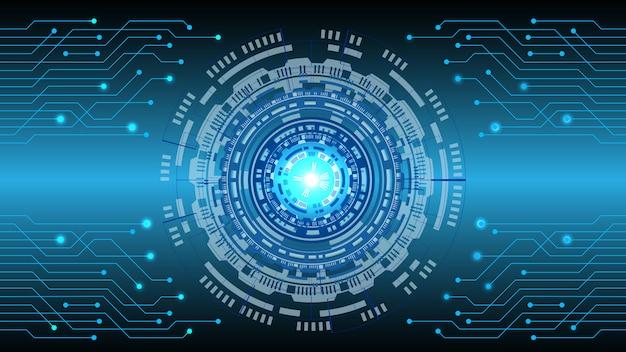 Fundo digital de tecnologia abstrata