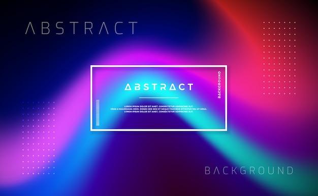 Fundo dinâmico abstrato, moderno para sua página de destino ou projetos de site.