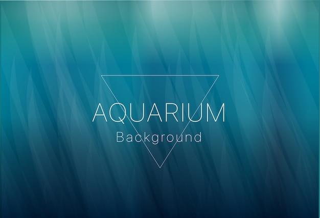 Fundo do aquário