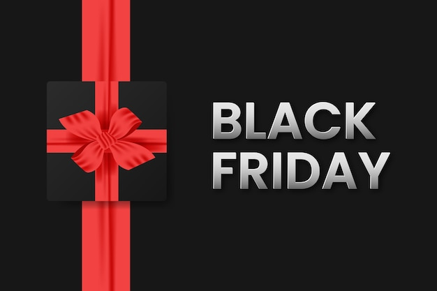Fundo do banner de venda da black friday