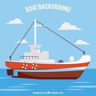 Fundo do barco