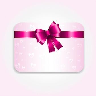 Fundo do cartão de presente ideal para o uso para dia dos namorados