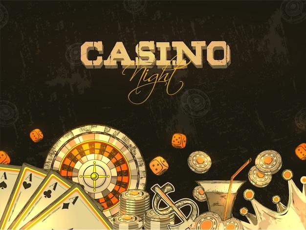 Fundo do casino.