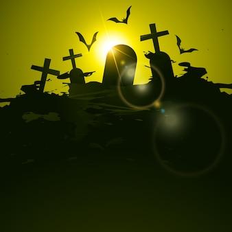 Fundo do cemitério