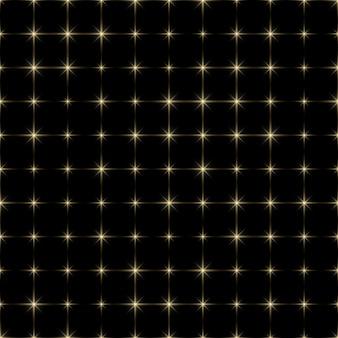 Fundo do céu com estrelas