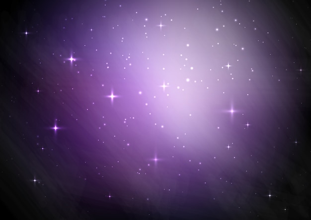 Fundo do céu estrelado de galáxia