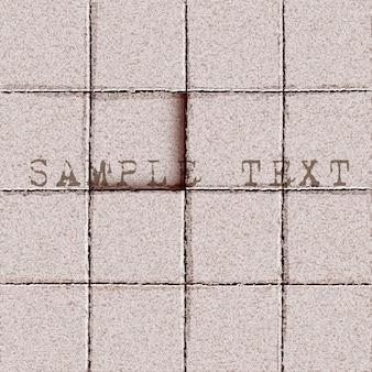 Fundo do chão de azulejos