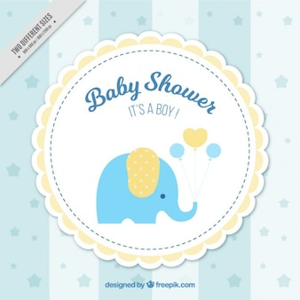 Fundo do chuveiro de bebê