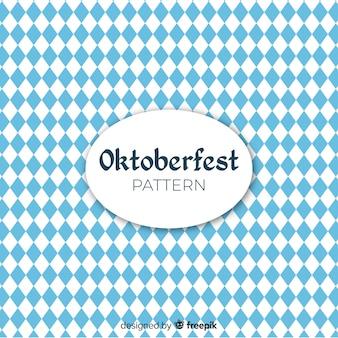 Fundo do conceito de oktoberfest geométrica