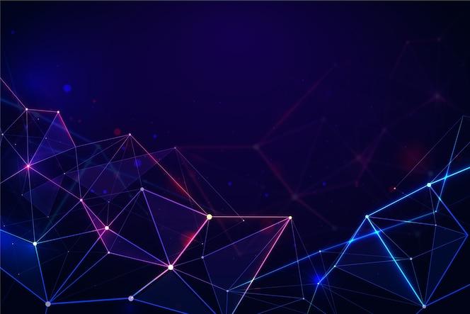 Fundo do conceito de tecnologia digital