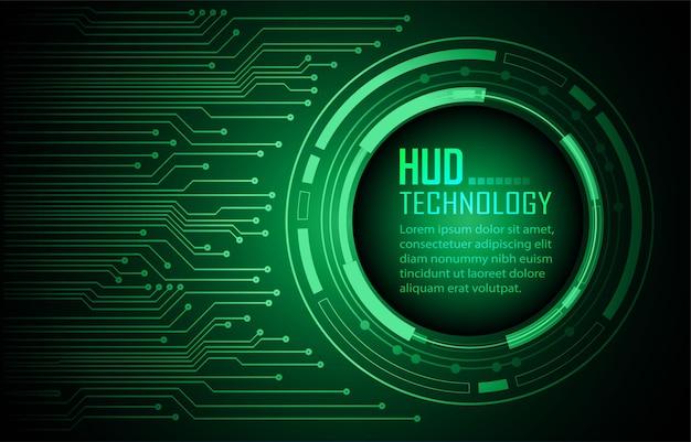 Fundo do conceito de tecnologia do futuro do circuito cibernético cadeado fechado no vetor de dados digitais
