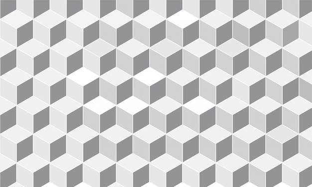 Fundo do cubo de padrão geométrico.