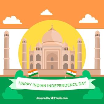 Fundo do dia da independência indiana