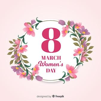 Fundo do dia da mulher