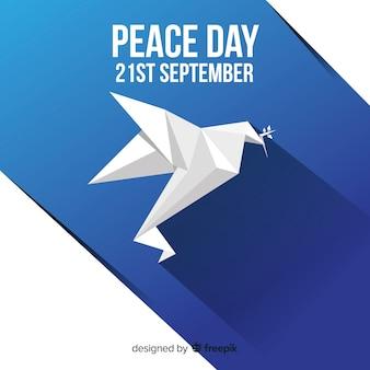 Fundo do dia da paz