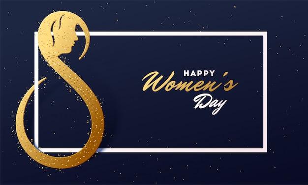 Fundo do dia das mulheres.