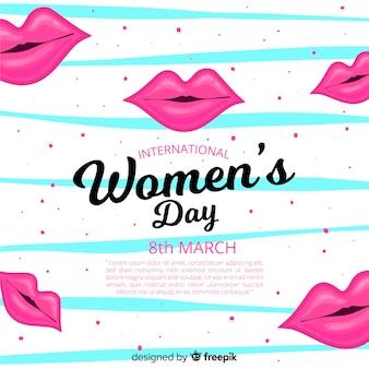Fundo do dia das mulheres