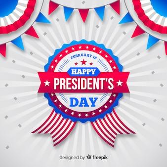 Fundo do dia do presidente