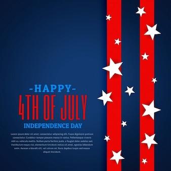 Fundo do dia independência americana