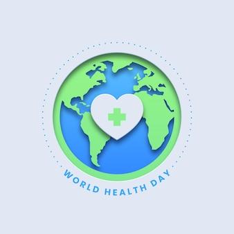 Fundo do dia mundial da saúde