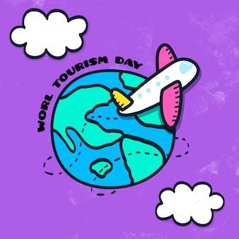 Fundo do dia mundial do turismo