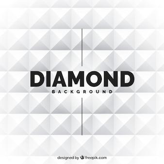 Fundo do diamante branco