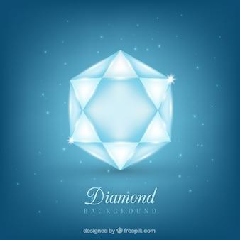 Fundo do diamante brilhante