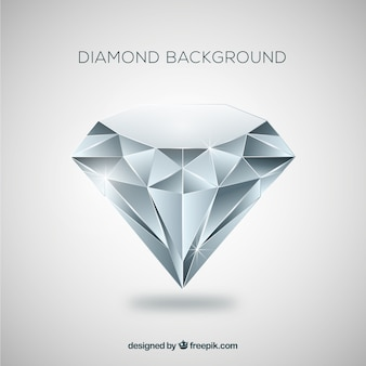 Fundo do diamante no design plano