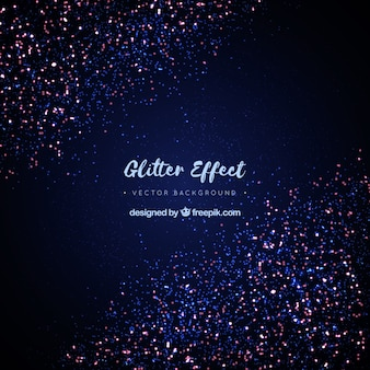 Fundo do efeito glitter