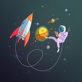 Fundo do espaço aberto