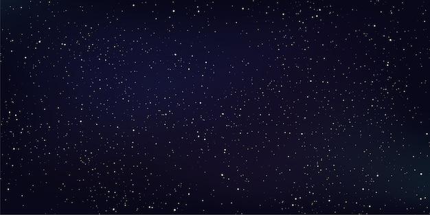 Fundo do espaço abstrato, estrela e poeira estelar no universo profundo.