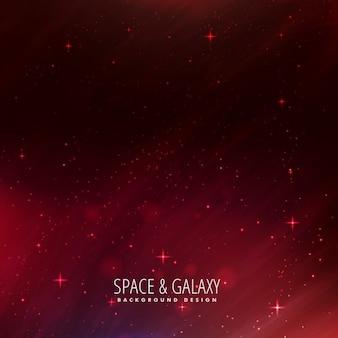 Fundo do espaço com estrelas