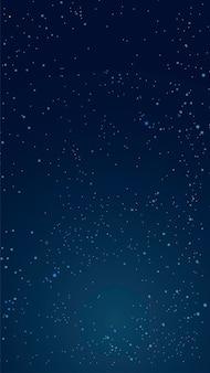 Fundo do espaço. ilustração em vetor abstrato do planeta e o céu estrelado. um vazio para a criatividade