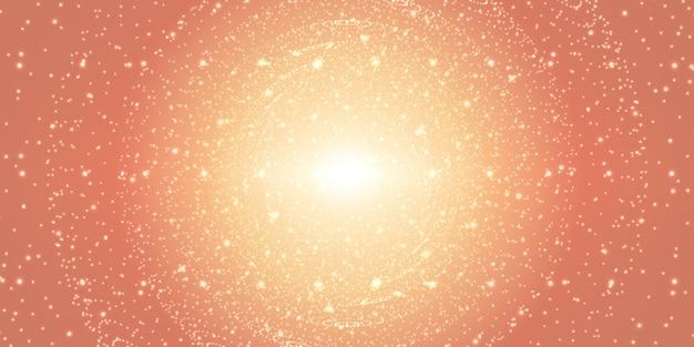 Fundo do espaço infinito.